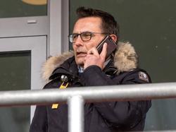 Michael Born ist Geschäftsführer beim Zweitligisten Dynamo Dresden