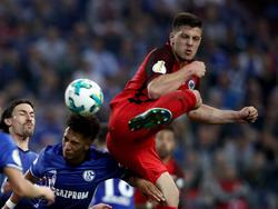 Frankfurts Luka Jovic war der Matchwinner auf Schalke