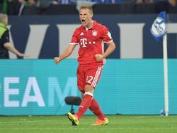 Joshua Kimmich erzielte gegen Schalke seinen ersten Bundesligatreffer