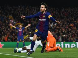 Lionel Messi war einmal mehr der Mann des Abends