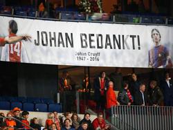 """Die AmsterdamArena wird zum """"Johan-Cruijff-Stadion"""""""
