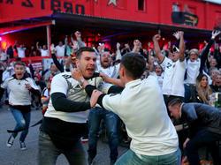 Unbändige Freude auf den Fanmeilen in Deutschland