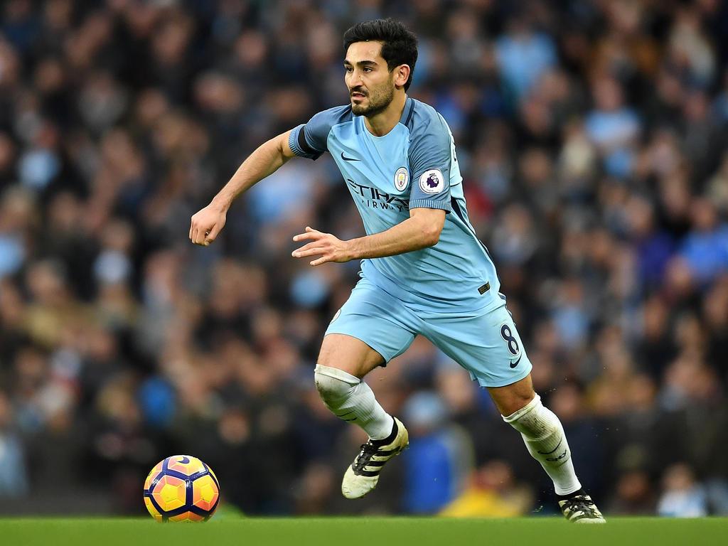 İlkay Gündoğan steht bei Manchester City unter Vertrag