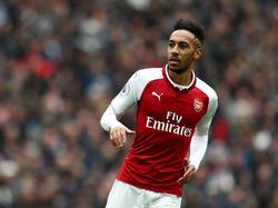 Darf in der Europa League nicht für Arsenal spielen: Pierre-Emerick Aubameyang