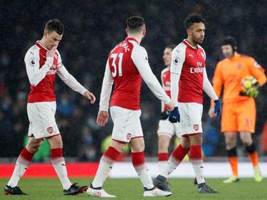 El Arsenal está cuajando una temporada para olvidar en Inglaterra. (Foto: Getty)