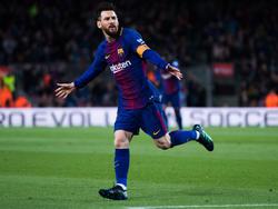 Lionel Messi hält Barcelona mit seinem Hattrick auf Kurs