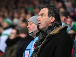 Heribert Bruchhagen glaubt weiter an den HSV