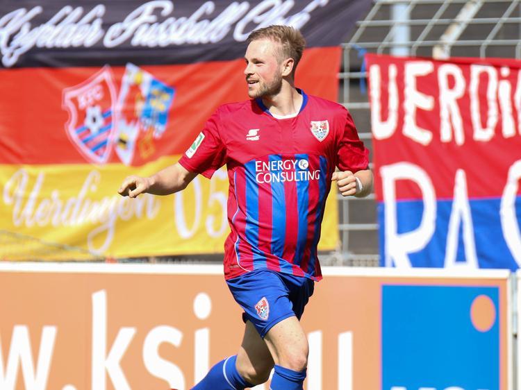 Einst vom BVB umworben. heute beim KFC Uerdingen: Maximilian Beister