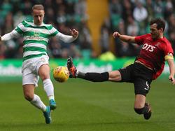 Leigh Griffiths' (l.) Treffer zum 1:0 reichte für Celtic nicht