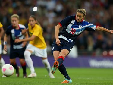 Kelly Smith debutó con la selección inglesa en 1995. (Foto: Getty)