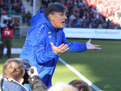 Ramon Berndroth ist mit 64 Jahren zum ersten Mal Cheftrainer in der Bundesliga