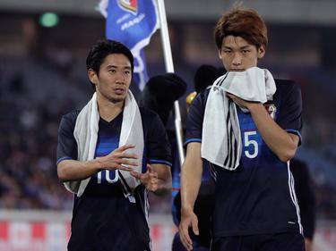 Shinji Kagawa (l.) erzielte das 3:3 kurz vor dem Schlusspfiff