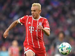 Der vielseitig einsetzbare Rafinha wird von Bayern-Trainer Jupp Heynckes geschätzt