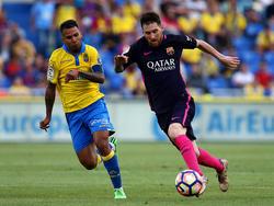 La UD Las Palmas perdería a su capitán en plena lucha por la permanencia. (Foto: Getty)