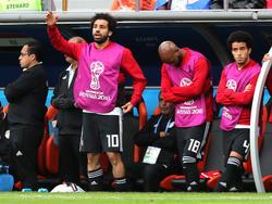 Das Warten hat ein Ende: Mo Salah soll am Dienstag ins Geschehen eingreifen