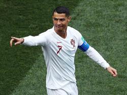 Macht mit einem kleinen Kinnbart von sich reden: Cristiano Ronaldo