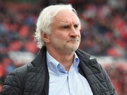 Rudi Völler und Bayer Leverkusen hatten sich schon mit dem Remis abgefunden