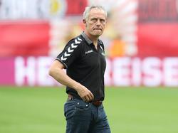 Christian Streich und sein Team stehen unter Zugzwang
