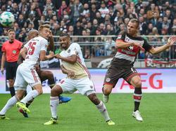 Der FC St. Pauli kassiert eine herbe Heimpleite gegen Ingolstadt