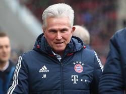 Jupp Heynckes und die Bayern haben weiterhin alle Titel im Visier