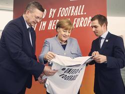 Reinhard Grindel warnt davor die Bewerbung um die EM 2024 als Selbstläufer anzusehen