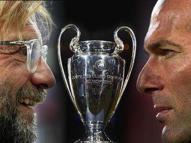 Die Fußball-Fans freuen sich auf das Duell Jürgen Klopp gegen Zinédine Zidane