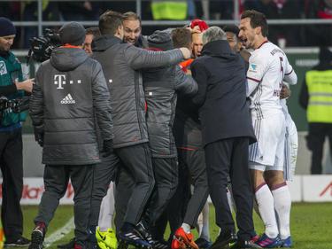 El Bayern ganó 'in extremis' en Ingolstadt. (Foto: Getty)