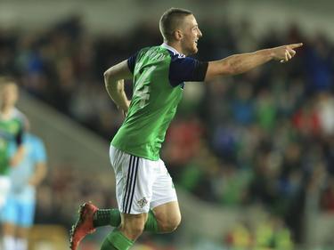 El irlandés Conor Washington celebra el gol ante Eslovenia. (Foto: Getty)