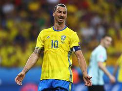 Wird nicht bei der WMin Russland spielen: Stürmerstar Zlatan Ibrahimovic