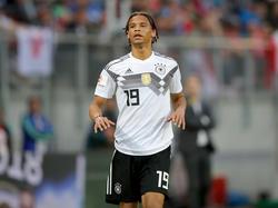 Leroy Sané darf nicht mit zur WM nach Russland fahren