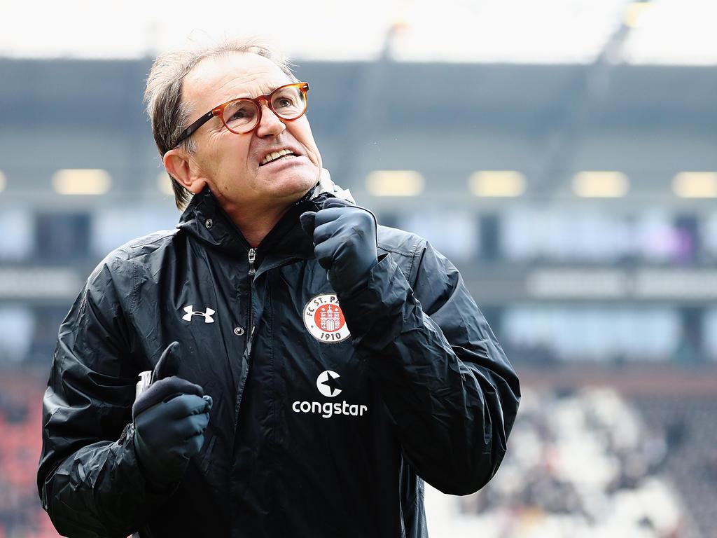 Ewald Lienen ist der Technische Direktor des FC St. Pauli