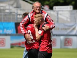Helmut Dietterle und sein Team treffen im DFB-Pokal auf RB Leipzig
