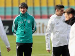 Joachim Löw geht mit der deutschen Auswahl als topgesetztem Team in die Nations League