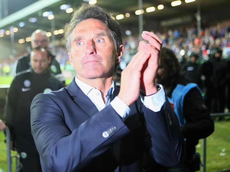 Mr. Relegation, Bruno Labbadia hat es mit dem VfL Wolfsburg geschafft, die Klasse zu halten.