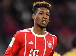 Kingsley Coman fühlt sich sehr wohl beim FC Bayern
