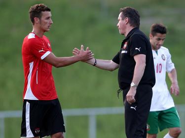 ÖFB-U21-Teamchef Werner Gregoritsch war nach dem 3:1 über Bulgarien zufrieden