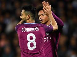 Haben den Sprung ins Team des Jahres verpasst: Ilkay Gündogan und Leroy Sané