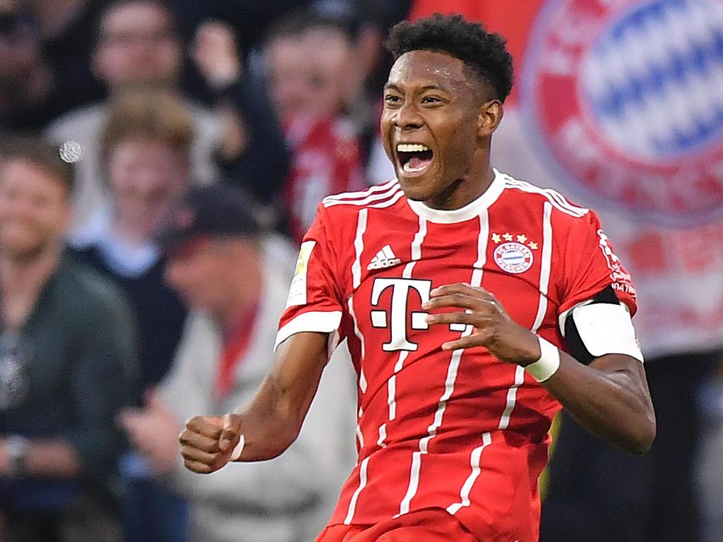 David Alaba erzielte das 4:1 für die Bayern