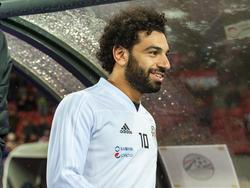 Mohamed Salah hat sich fit gemeldet