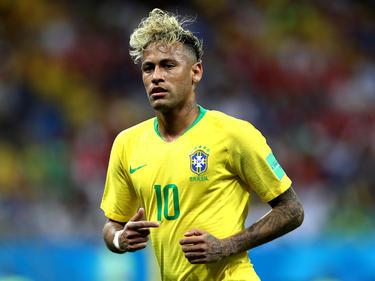 Brasiliens Superstar Neymar sorgte mit seiner Frisur für viel Aufsehen