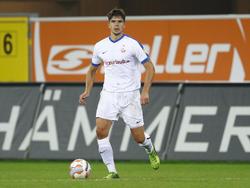 Hoffmann war früher für Rostock aktiv und spielt jetzt für den CFC