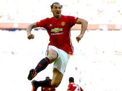 Zlatan Ibrahimović von Manchester United ist Ronaldos größter Fan