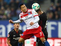 Bobby Wood fehlt dem HSV im Spiel gegen den VfB Stuttgart