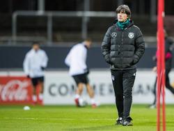 Joachim Löw will mit dem DFB-Team den Titel in Russland verteidigen
