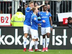 Darmstadt feierte einen wichtigen Sieg im Abstiegskampf
