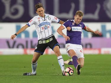 Uroš Matić (l.) wird in Zukunft an der Seite von Alex Grünwald (r.) spielen