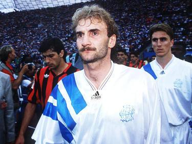 Rudi Völler holte mit OM den einzigen Champions-League-Titel eines französischen Teams
