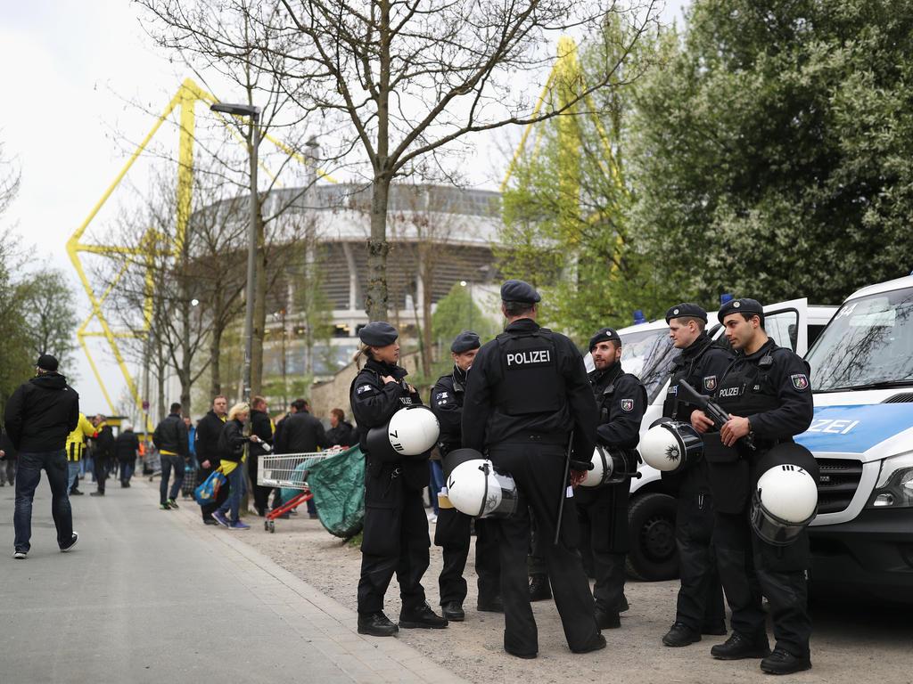Rund 1000 Beamte sollen beim Spiel gegen Leipzig für Sicherheit sorgen