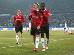 Hannover 96 beendete die Freiburger Serie