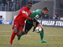 Der SC Paderborn und Preußen Münster trennten sich unentschieden